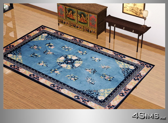 Antique chinese rugs set with 5 items for Sims 3 by 4Sims