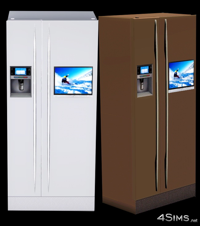 Ultra Modern Refrigerator  for Sims 3 by 4Sims