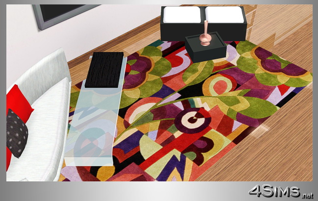 35 Designer colorful modern rugs in 5 contemporary styles