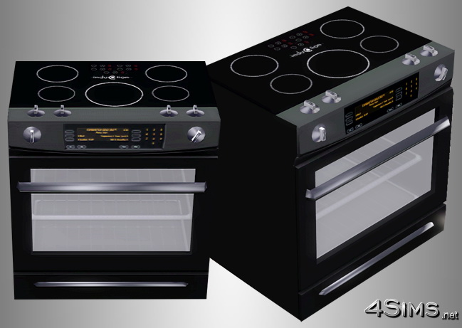 Ultra Modern Ceramic Stove For Sims 3 4sims