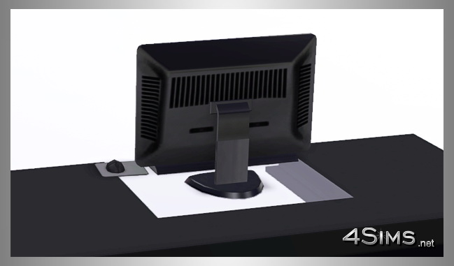 Ultimate Computer Wide HD Screen  for Sims 3 by 4Sims