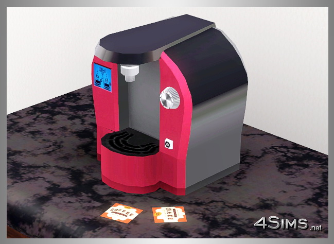 Modern Coffee Machine for Sims 3 by 4Sims