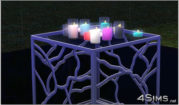 Romantic Candles Group For Sims 3 4sims