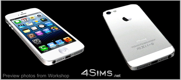 Mobile phone for Sims 3 by 4Sims