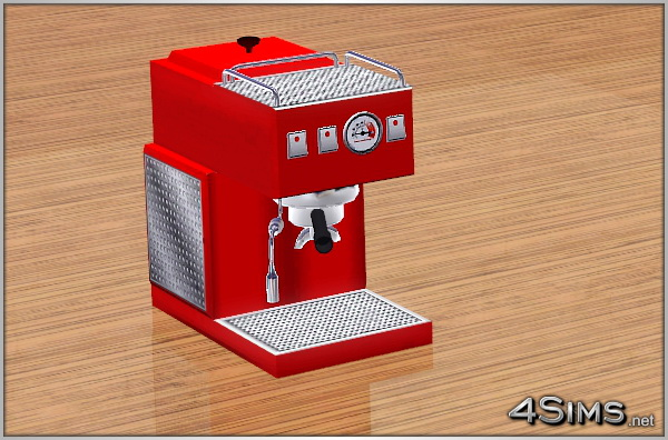 Espresso machine for Sims 3 by 4Sims