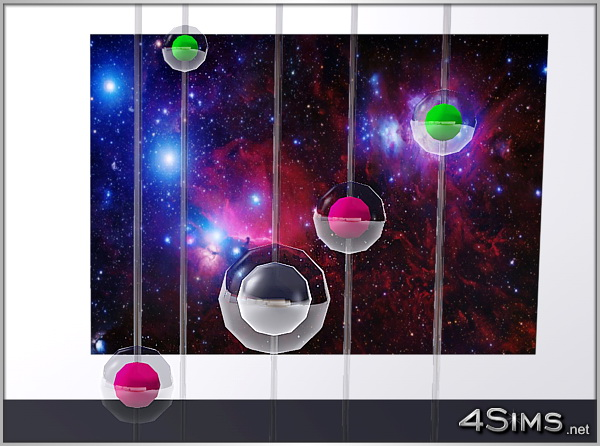 Audio surround spheres for Sims 3 by 4Sims