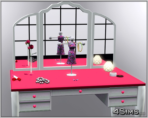 Mannequin jewelry stand for Sims 3 by 4Sims