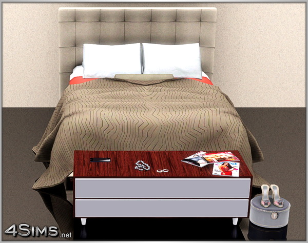 Vanity set 2 items: separate dresser and mirror for Sims 3 by 4Sims