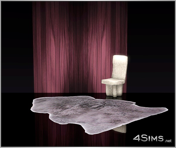 Wood wall panels, spot illuminated background for Sims 3 by 4Sims