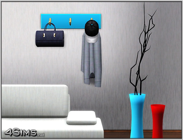 Wall hanger decor for Sims 3 by 4Sims