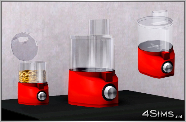 Modern food processor for Sims 3 by 4Sims