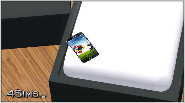 Cell Phone Galaxy for Sims 3 by 4Sims
