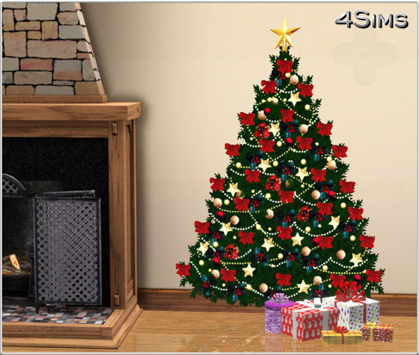 Is There A Christmas Tree In Sims 3 Seasons