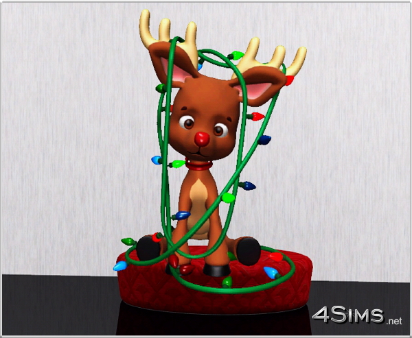 6 Reindeer wall decor for Sims 3 by 4Sims