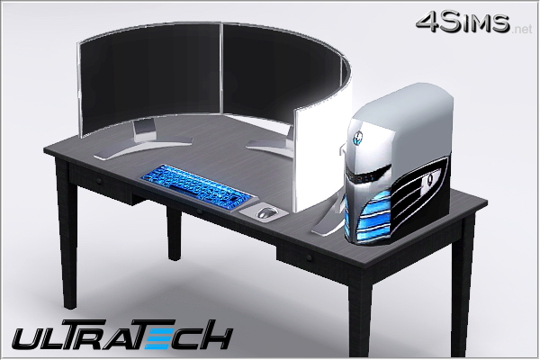 Modern sink furniture - Extreme Monster Desktop Pc For Sims 3 By 4sims