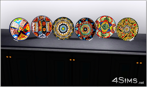 Mexican Decorative Plates For Sims 3 By 4sims