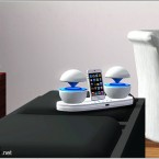 Futuristic iPod Docking Station 1