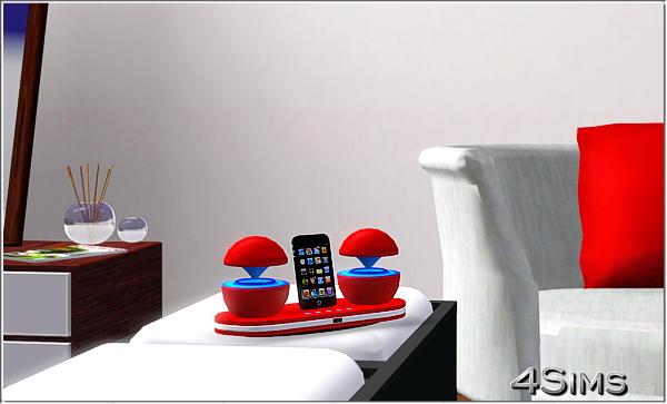 Futuristic Ipod Docking Station For Sims 3 4sims