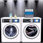 Combo clothes washer and dryer by 4Sims - 1