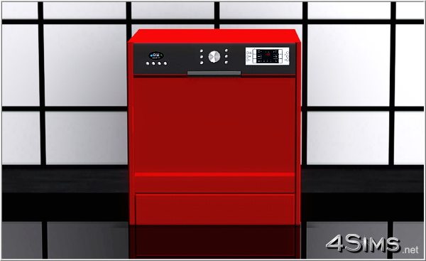 Modern dishwasher by 4Sims - 5
