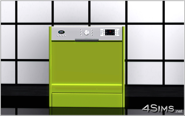 Modern dishwasher for Sims 3 by 4Sims
